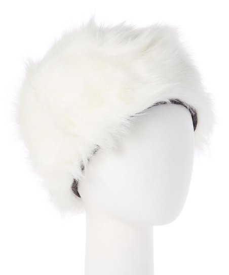 bc90748b5fefb love this product Ivory Faux Fur Hat - Women