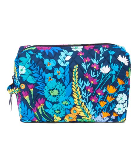 Midnight Blues Large Cosmetic Bag