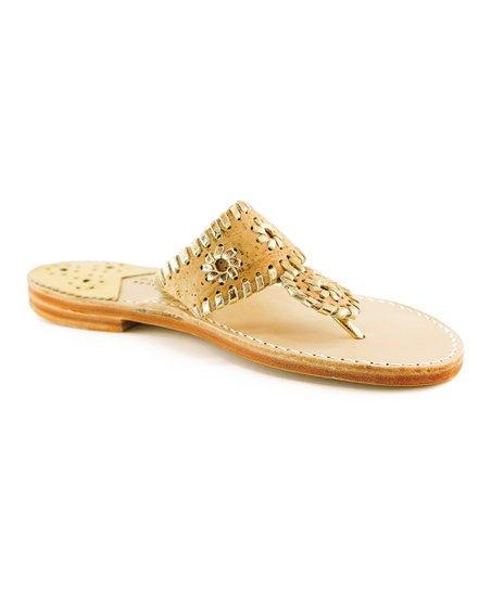 9e7aa4d7a8413 Palm Beach Sandals Cork   Gold Palm Beach Classic Leather Sandal ...