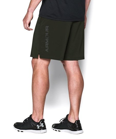 Under Armour Mens Hiit Woven Short Artillery Green Size Small