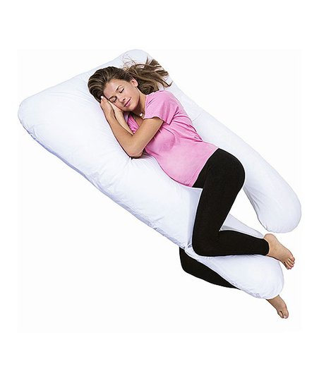 Pharmedoc White U Shape Full Body Pillow Zulily