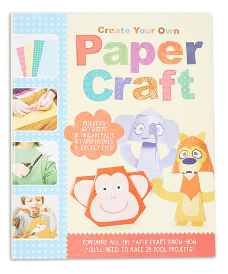Baker & Taylor Publisher Services Create Your Own Paper Craft Set