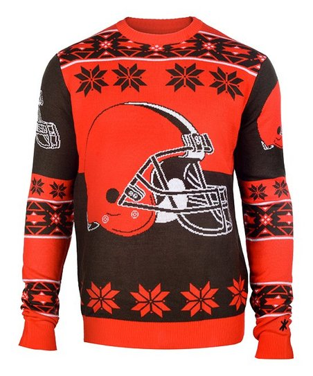 Cleveland Browns Christmas Sweater.Forever Collectibles Cleveland Browns Ugly Sweater Men S Regular