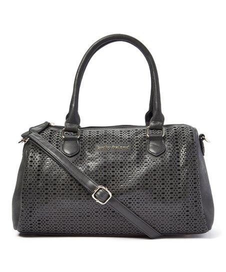 6fb235a0b0 kathy ireland Black Duffle Bag