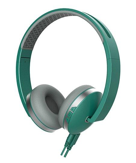 Sharper Image Green Titanium Wireless Headphones Zulily