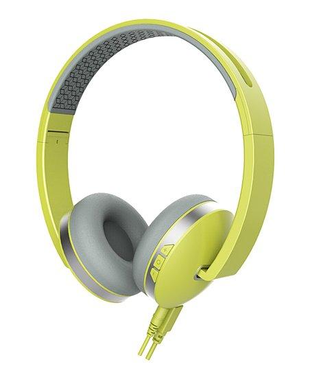 Sharper Image Yellow Titanium Wireless Headphones Zulily