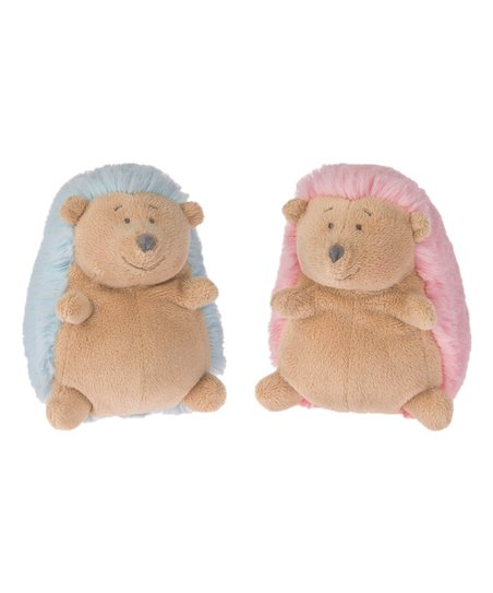 Ganz Blue Pink 5 Roly Poly Hedgehog Plush Toy Set Zulily