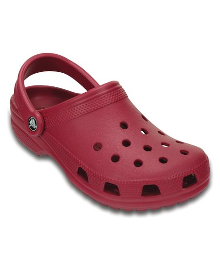 Crocs Pomegranate Classic Clog - Adult
