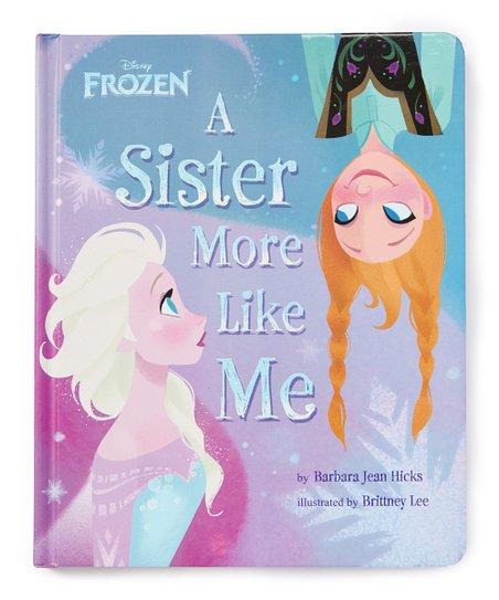 A Sister More Like Me Book