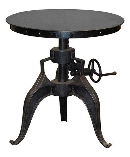 Kosas Home Huntley Adjustable Crank Bistro Table