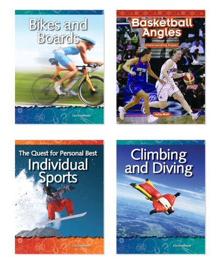 Teacher Created Resources Sports Four-Book Set