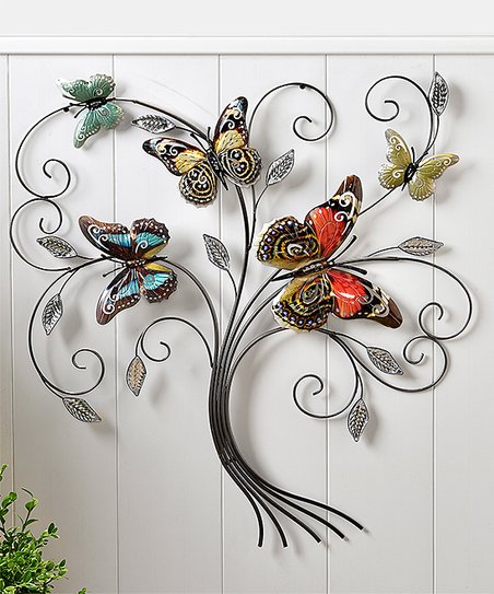 love this product Sculpted Iron Butterfly Tree Wall Décor b71c13060