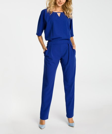 1180c04cb8c love this product Royal Blue Jumpsuit - Women