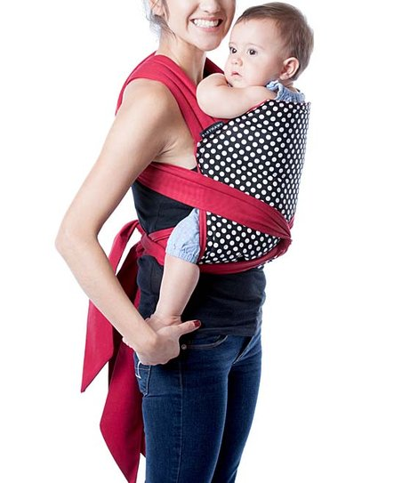 Moby Wrap Dotty Babyhawk Meh Dai Baby Carrier