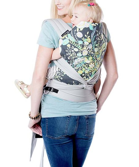 Moby Wrap Floral Babyhawk Meh Dai Baby Carrier