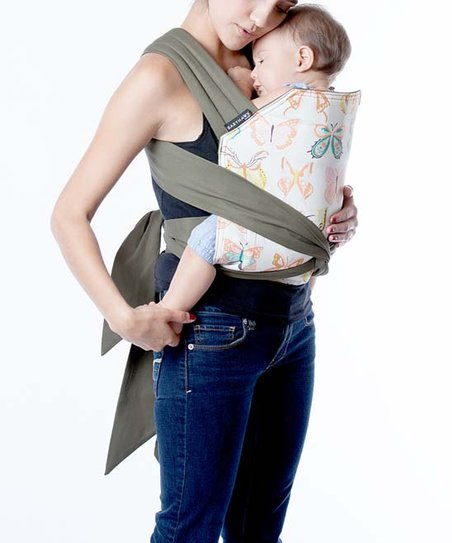 Moby Wrap Winged Babyhawk Meh Dai Baby Carrier