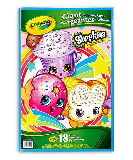 Shopkins Giant Coloring Pages Coloring Book Zulily