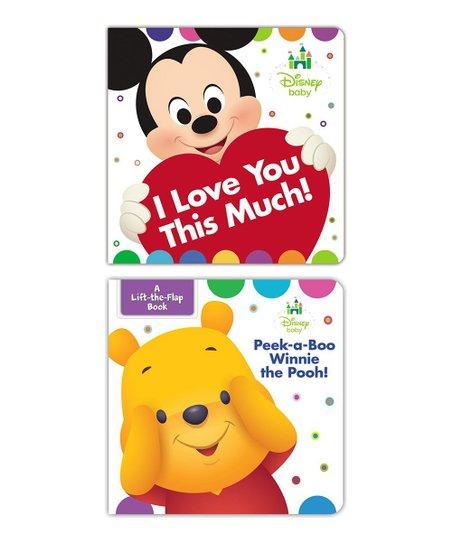 Hachette Book Group Disney Baby Winnie the Pooh Board Book Set  d2b1dd305ea6