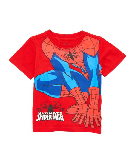 9735b711 love this product Red Ultimate Spider-Man Crouching Tee - Toddler & Boys