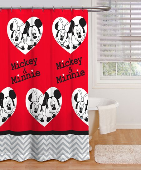 Love This Product Mickey Minnie Mouse Luv You More Shower Curtain