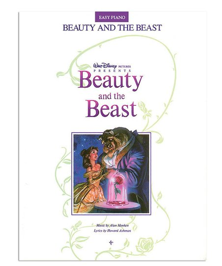 Hal Leonard Beauty and the Beast Easy Piano Songbook   Zulily
