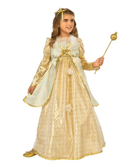 6e559b26e40f4 Rubies Golden Princess Dress-Up Set - Girls | Zulily