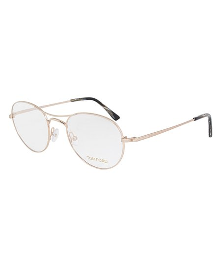 d00234511d8d love this product Rose Gold Thin Aviator Eyeglasses
