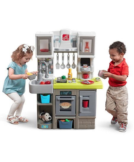 d3477c4c6f7 Step2 Contemporary Chef Kitchen Play Set