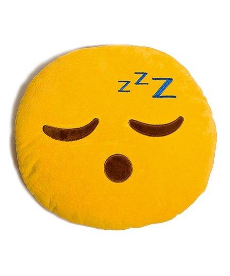 Emojifluff Sleepy Emoji Pillow