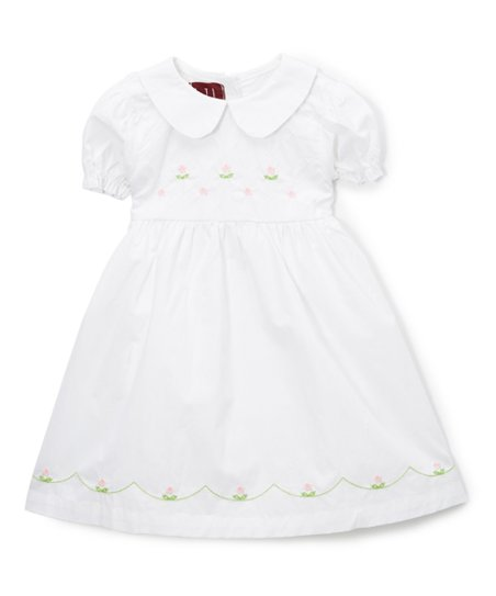 f51e8b6f41 love this product White Peter Pan Collar Dress - Toddler   Girls