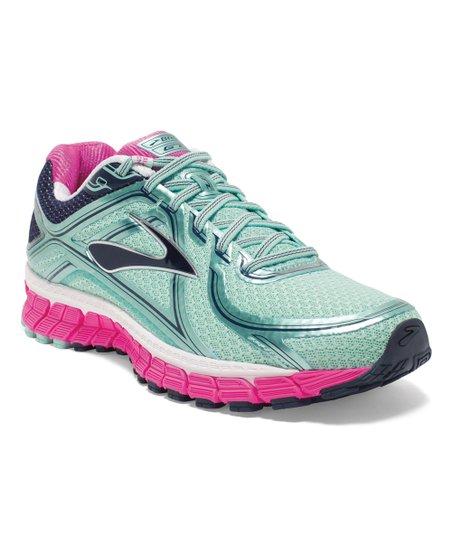 be20d7b11bb Brooks Blue Tint   Pink Glo Adrenaline GTS 16 Running Shoe - Women ...