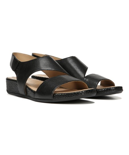 9eb2c89fcfba Naturalizer Black Yessica Leather Sandal