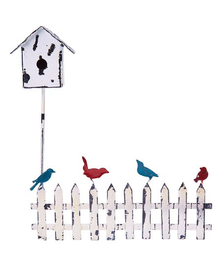 Midwest Design Imports Inc Miniature Garden Fence Bird