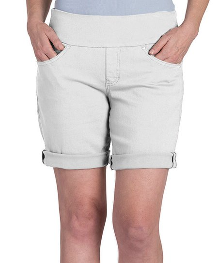 588514b0f6c4 love this product White Dolce Twill Pull-On Jordan Shorts