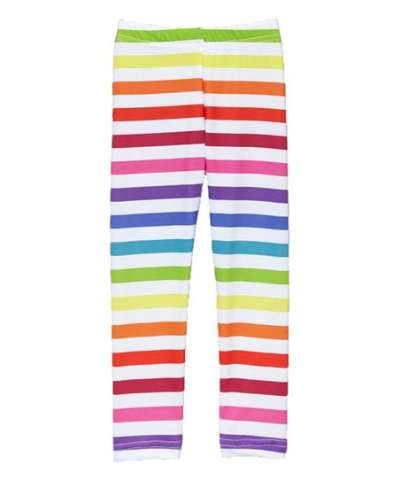 f7f9aa7b759b7 love this product Rainbow Stripe Leggings - Toddler & Girls