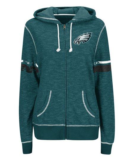 pretty nice 1b1bd 6d4e2 Philadelphia Eagles Zip-Up Hoodie - Women & Plus