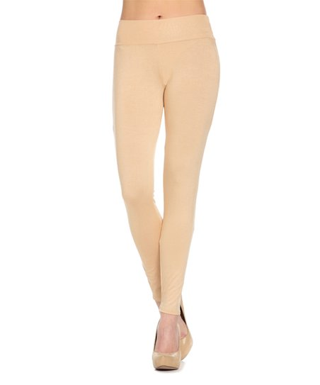 feb127aadc8b1 love this product Taupe Leggings - Plus Too
