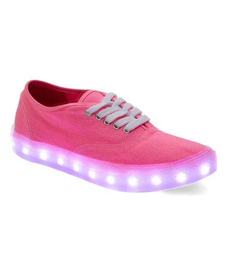 61602cd2742 love this product Neon Pink LED Light-Up Sneaker