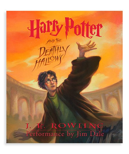 Random House Harry Potter And The Deathly Hallows Audio Book Cd Zulily