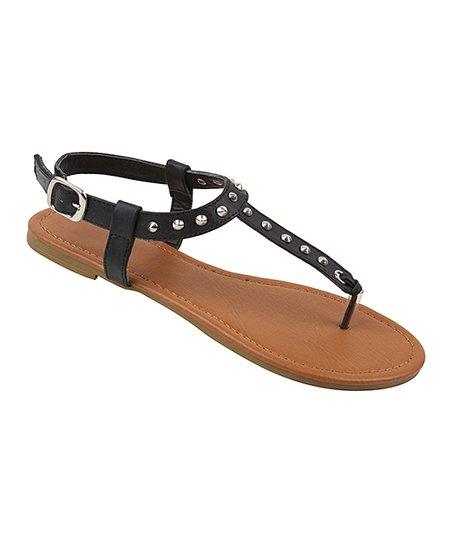 0e35213ee Star Bay Black Studded Sandal - Women