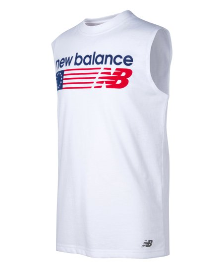 18afeabe77df1 love this product White Americana Sleeveless Tee - Boys