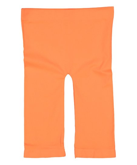 480c967f55 love this product Neon Orange Seamless Bike Shorts - Women