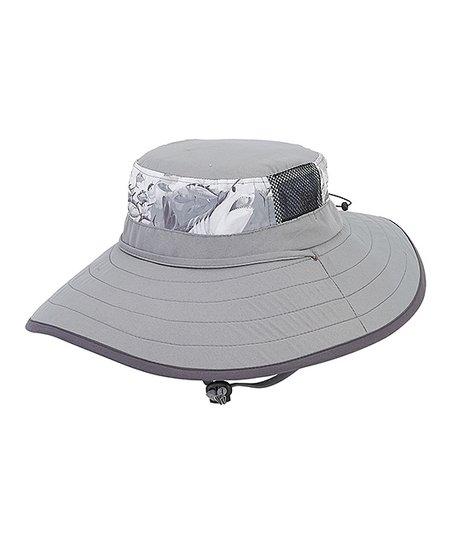 7ac47c9986e9d6 Guy Harvey Gray Shark Bucket Hat | Zulily