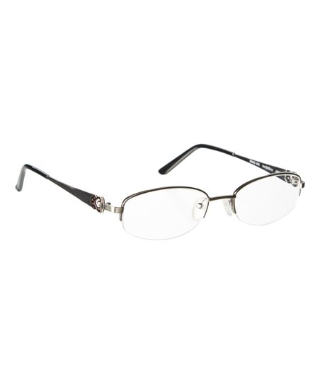 1a0fa0aa0c7 love this product Silvertone   Bronze Browline Eyeglasses With Swarovski®  Crystals