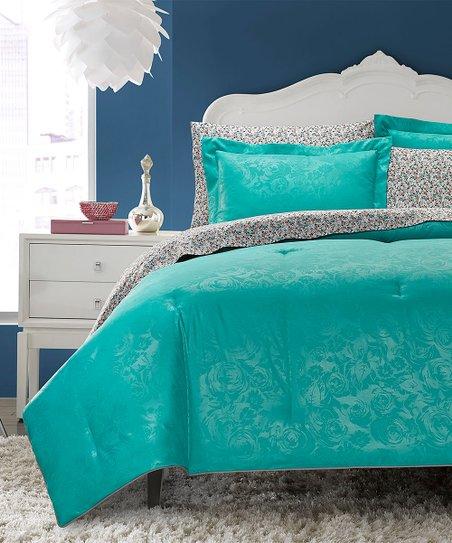 Betsey Johnson® Turquoise Bedding Set