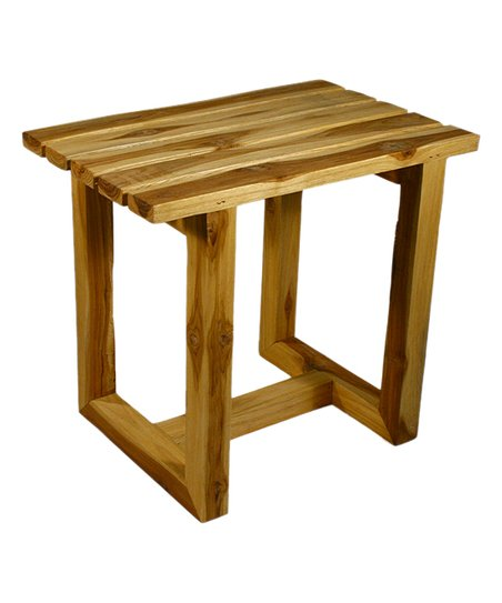 Swell Strata Furniture Teak Spa Stool Theyellowbook Wood Chair Design Ideas Theyellowbookinfo