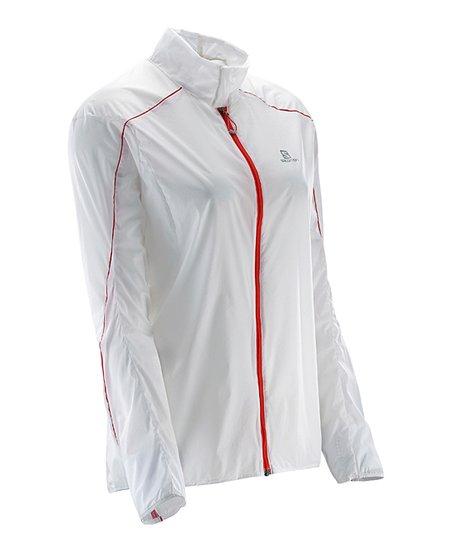 Salomon White S LAB Light Jacket Women | Zulily