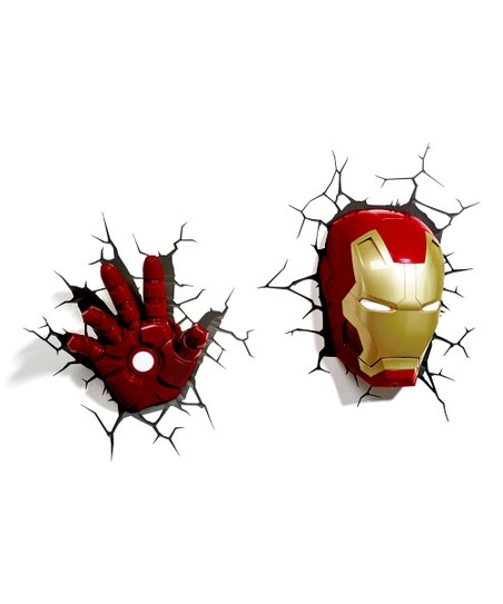 Iron Man Mask Hand 3 D Light Set