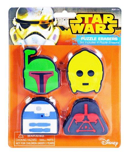 Innovative Designs Star Wars Four-Piece Puzzle Eraser Set