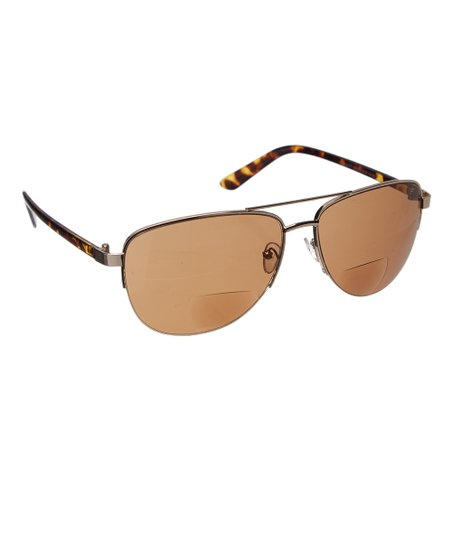 4eb0cb5c42d Eye Design Tortoise   Brown Aviator Bifocal Sun Readers